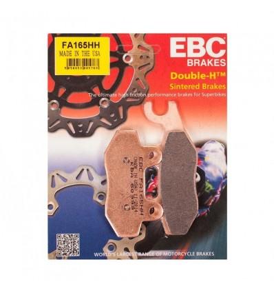 Тормозные колодки EBC FA165 HH DOUBLE H Sintered