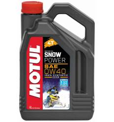 Моторное масло Motul Snowpower 4T 0W-40 4л