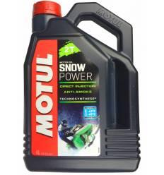 Моторное масло Motul Snowpower 2T 4л