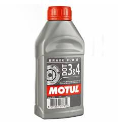 Тормозная жидкость DOT 3&4 Brake Fluid 1л