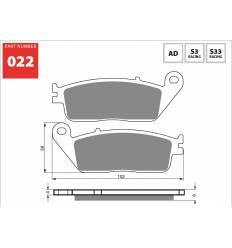 Тормозные колодки передние GOLD FREN Sintered S3 022 / FA142 FA196