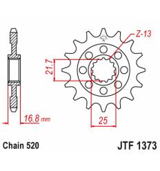 Звезда передняя (ведущая) 16 зубьев 3D416 стальная / JTF1373-16