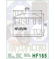 Фильтр масляный Hiflo Filtro HF165