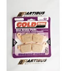 GOLD FREN Sintered S3 178 Тормозные колодки / FA261