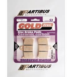 GOLD FREN Sintered S3 070 Тормозные колодки передние / FA252 / FA380