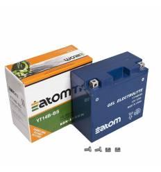 Аккумулятор Atom YT14B 4 (YT14B BS) GEL гелевый