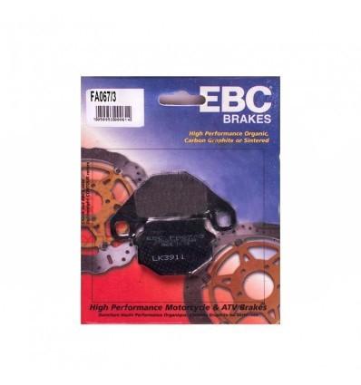 Тормозные колодки EBC FA067/3 / FA 067 3