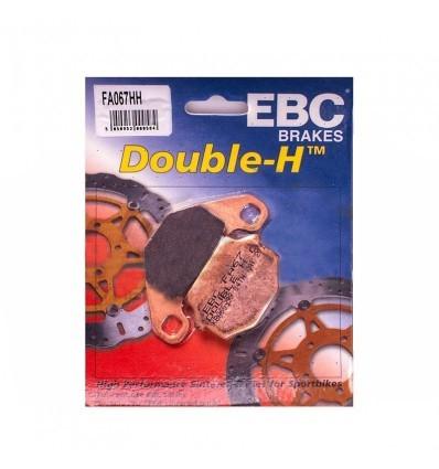 Тормозные колодки FA067 HH DOUBLE H Sintered