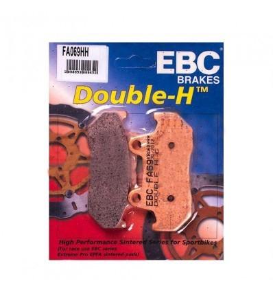 Тормозные колодки Honda Gold Wing 1500 EBC FA069 HH DOUBLE H Sintered