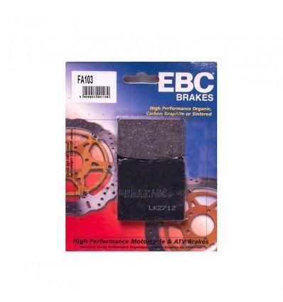 Тормозные колодки EBC FA103