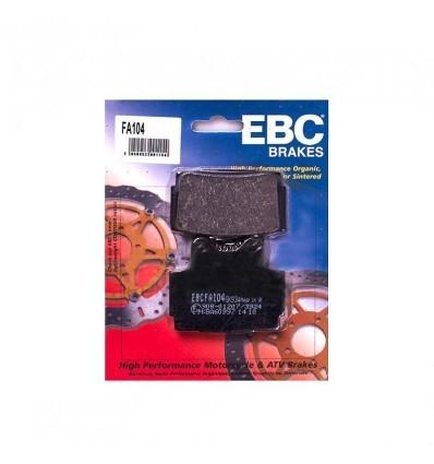 Тормозные колодки передние EBC FA104