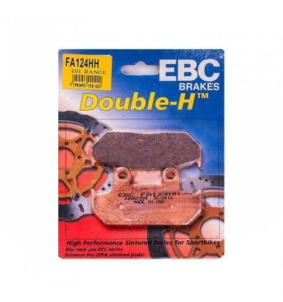 Тормозные колодки FA124 HH DOUBLE H Sintered