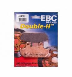 Тормозные колодки FA124/2HH DOUBLE H Sintered