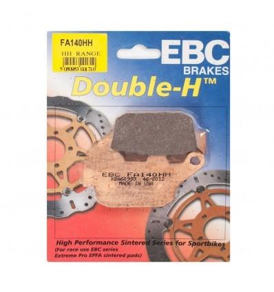 Тормозные колодки задние EBC FA140 HH DOUBLE H Sintered