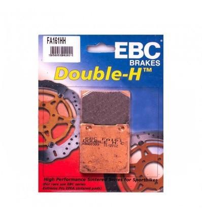 Тормозные колодки задние EBC FA161 HH DOUBLE H Sintered