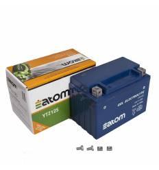 Аккумулятор Atom YTZ12S GEL гелевый / YTZ12 S