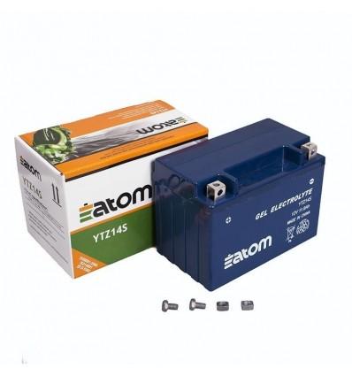 Аккумулятор Atom YTZ14S GEL гелевый