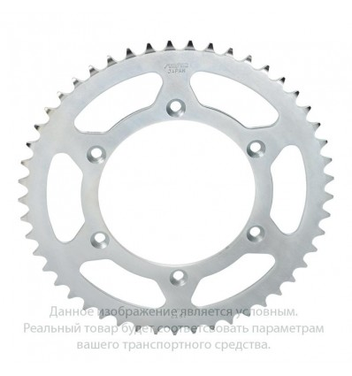 Звезда задняя 49 зубьев 1-4598-49 стальная / JTR300-49