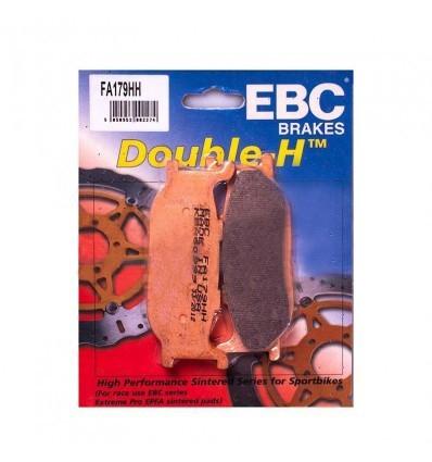 Тормозные колодки передние EBC FA179 HH DOUBLE H Sintered