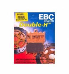 Тормозные колодки EBC FA180 HH DOUBLE H Sintered