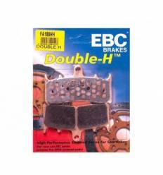Тормозные колодки Honda CBR1000F 93-99 EBC FA189 HH DOUBLE H Sintered
