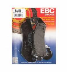 Тормозные колодки Honda CBR1000F 93-99 EBC FA189