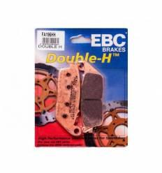 Тормозные колодки EBC FA196 HH DOUBLE H Sintered