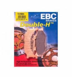 Тормозные колодки передние EBC FA199 HH DOUBLE H Sintered