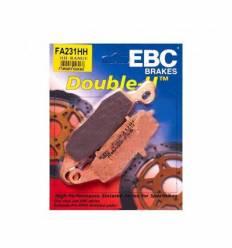 Тормозные колодки EBC FA231 HH DOUBLE H Sintered