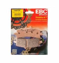 Тормозные колодки передние EBC FA447HH DOUBLE H Sintered