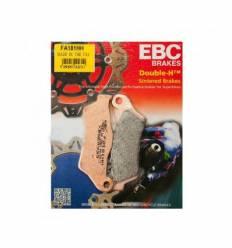 Тормозные колодки передние / задние EBC FA181HH DOUBLE H Sintered