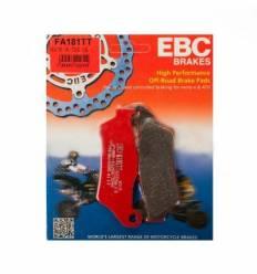 Тормозные колодки передние / задние EBC FA181TT