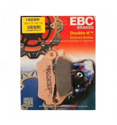 Тормозные колодки задние EBC FA363HH DOUBLE H Sintered