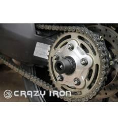 Слайдеры в ось заднего колеса для Ducati (список моделей в описании) CRAZY IRON 6042