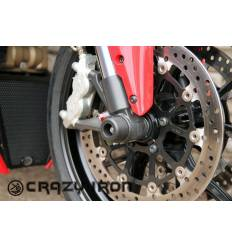 Слайдеры в ось переднего колеса для Ducati (список моделей в описании) CRAZY IRON 6041