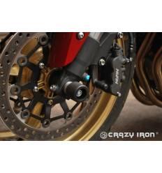 Слайдеры в ось переднего колеса для Honda CB1000R 08-17 CRAZY IRON 1143A