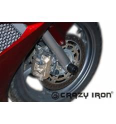 Слайдеры в ось переднего колеса для Honda VFR 800 Interceptor 02-12 VFR800X Crossrunner 11-14 CRAZY IRON 1113A